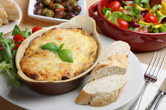 Lasagna Meal Royalty Free Stock Images