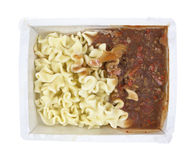 Lasagna Meat Sauce Frozen Stock Photo