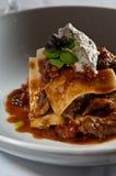 Lasagna Of Braised Lamb Stock Images