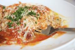 Lasagna's Royalty-vrije Stock Foto