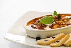 Lasagna's Gratine Royalty-vrije Stock Fotografie
