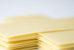Lasagna Sheets Stock Photo