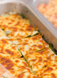 Lasagna Spinach. Stock Photography