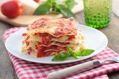 Lasagna vegetal Imagens de Stock Royalty Free