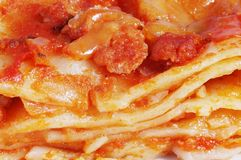 lasagne ζυμαρικά στοκ φωτογραφία με δικαίωμα ελεύθερης χρήσης