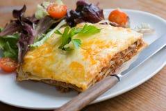 lasagne говядины Стоковые Фотографии RF