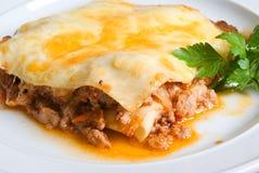 lasagne говядины Стоковая Фотография