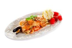 lasagne рыб Стоковые Фотографии RF