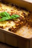 lasagne Royaltyfri Fotografi