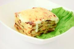 Lasagne Immagine Stock