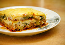 Lasagne Royalty Free Stock Photography