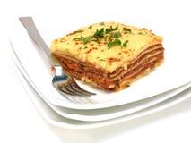 lasagne Arkivbilder