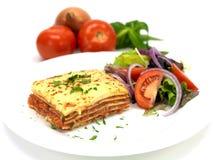 lasagne Arkivfoto
