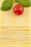 lasagne Στοκ Φωτογραφίες
