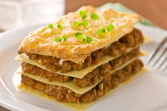 Lasagne, stockfotos
