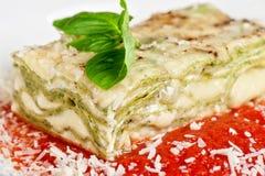 Lasagne stockfoto