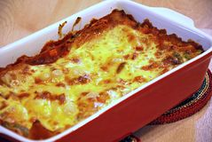 Lasagne 4 Royalty Free Stock Image
