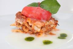 Lasagne Obrazy Stock