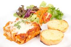 lasagne Photos libres de droits