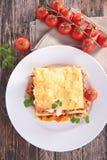 Lasagne Photo libre de droits