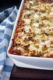 lasagne Arkivfoton