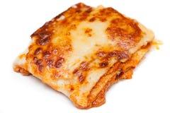 Lasagne Fotografia Stock Libera da Diritti