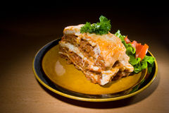 Lasagne Imagem de Stock Royalty Free