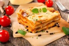 lasagne Image stock