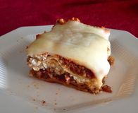 lasagne lizenzfreie stockfotografie