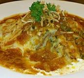Lasagne al forno del manzo Fotografia Stock