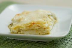 Lasagne al pesto Royalty Free Stock Photo