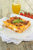 Lasagne alla Bolognese, Italian Food Royalty Free Stock Images