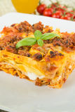 Lasagne alla Bolognese, Italian Food Royalty Free Stock Image
