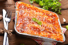 Lasagne bolognese Στοκ Φωτογραφία