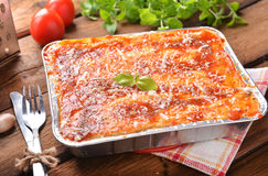 Lasagne Bolognese Stock Photo