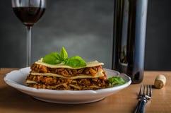 Lasagne bolognese Stock Photos