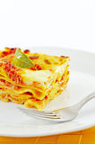 Lasagne, a classic Italian pasta casserole dish Royalty Free Stock Photo