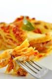 Lasagne, a classic Italian pasta casserole dish Stock Images