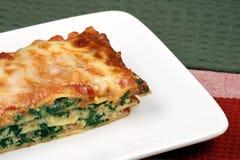 lasagne cuit au four d'Italien juste image libre de droits