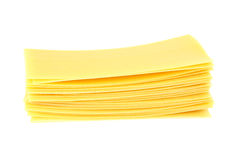 Lasagne makaron obraz stock