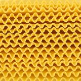 Lasagne pasta background. Full background of wavy lasagne noodles, square dimension stock images