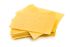 Lasagne sheets Stock Photography