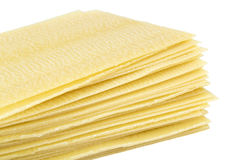 Lasagne sheets Stock Images