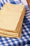 Lasagne sheets Royalty Free Stock Photos