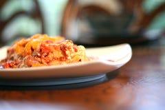 Lasagne végétal Photo libre de droits