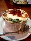 Lasagne végétarien Bolonais Image libre de droits