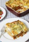 Lasagne verde vertical Stock Image