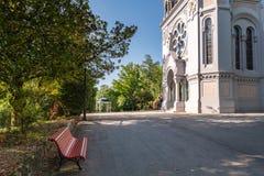 LaSalette kyrka Royaltyfri Bild
