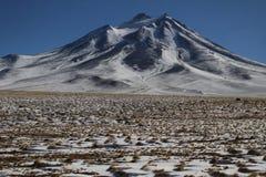 Lascar Vulcano. Vulcano be localizaded in desertic region of Atacama Royalty Free Stock Images