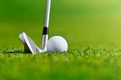 Lasci oggi il golf del ` s fotografie stock